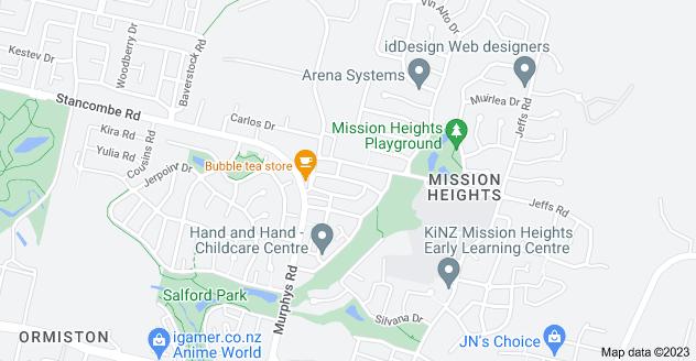 Location of Mandival Avenue