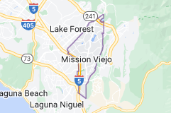 Map of Mission Viejo