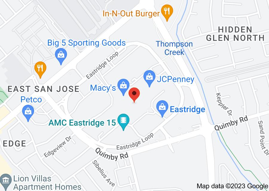 Location of Eastridge Center