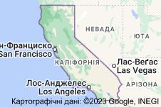 Location of Каліфорнія