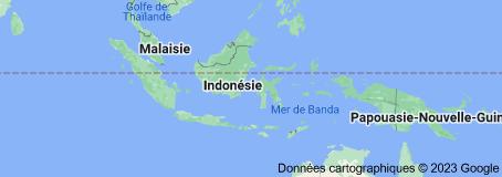 Location of Indonésie