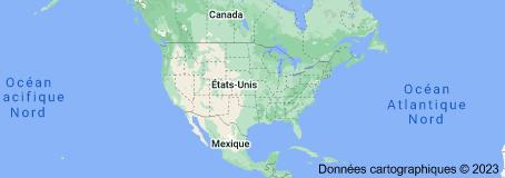 Location of États-Unis
