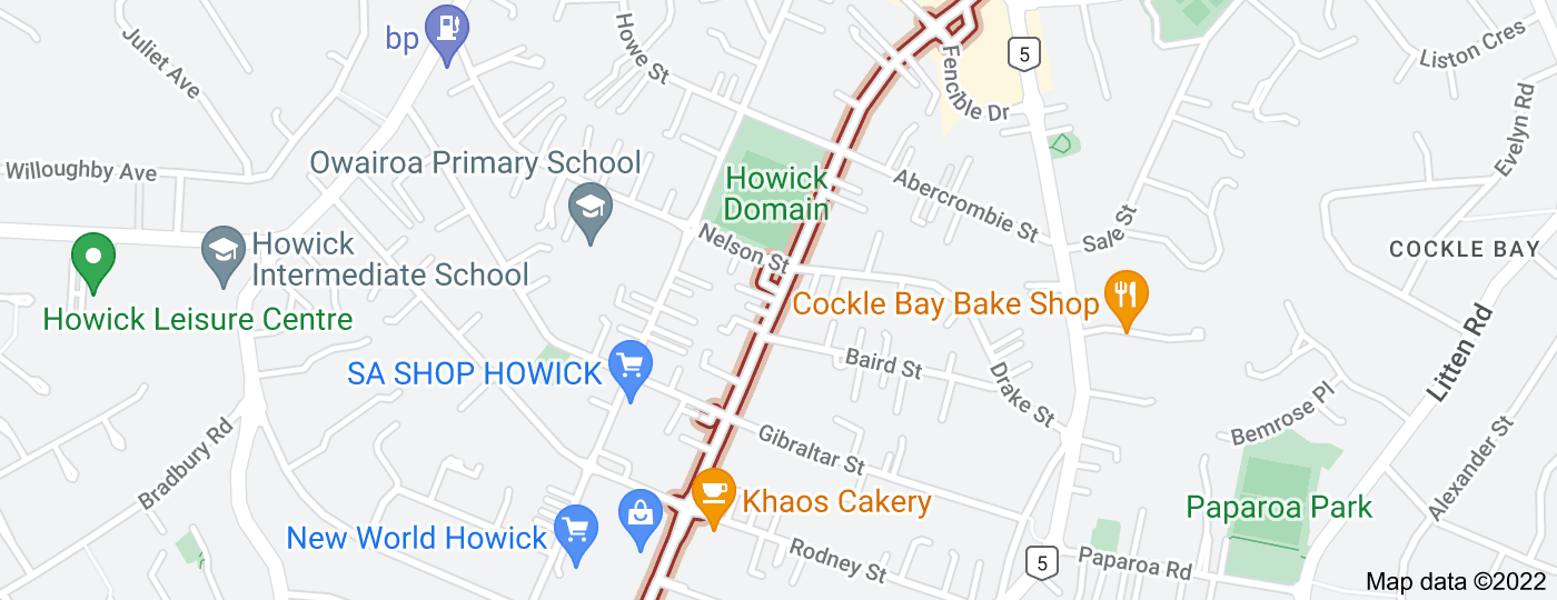 Location of Moore Street