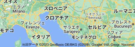 Location of クロアチア