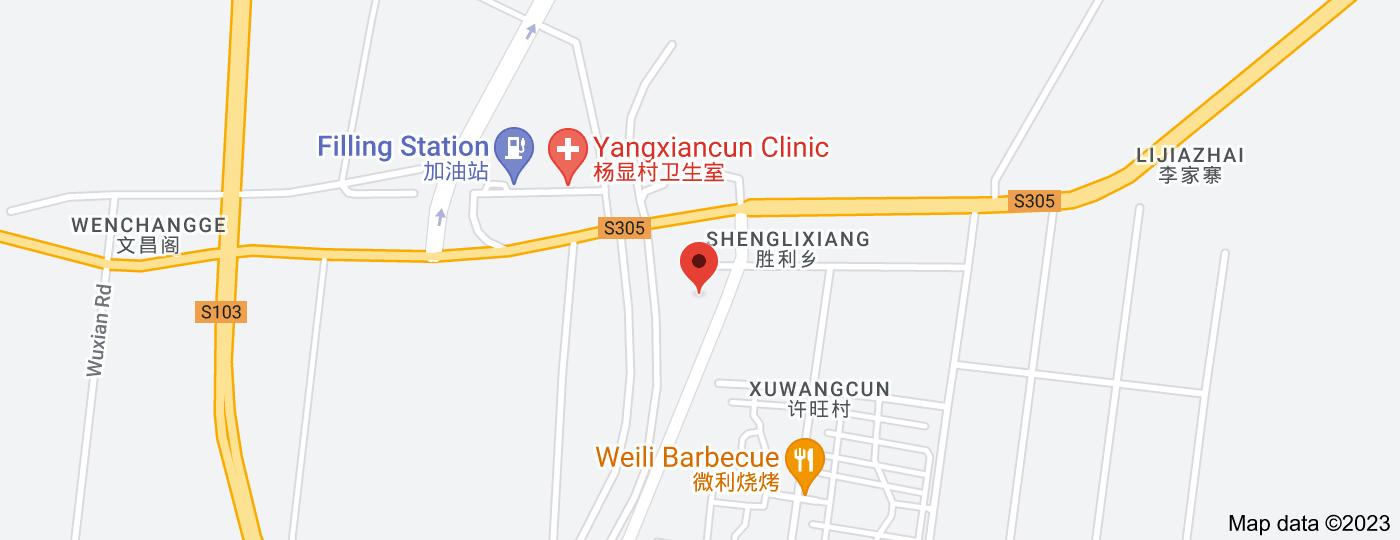 Location of Shenglixiang Jinxian Wholesale Department