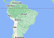 Location of Brazil