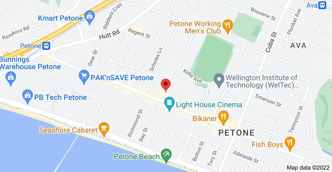Map of 3 Britannia St, Petone, Lower Hutt 5012