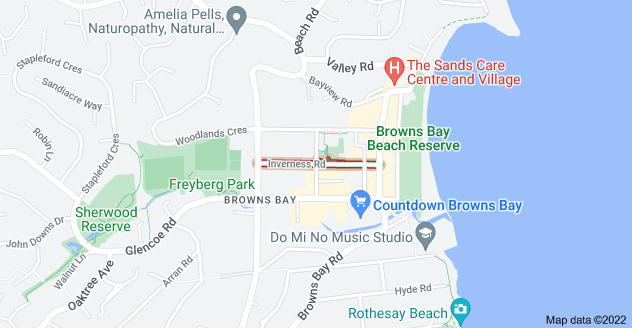 Location of Inverness Road