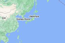 Japonya haritası