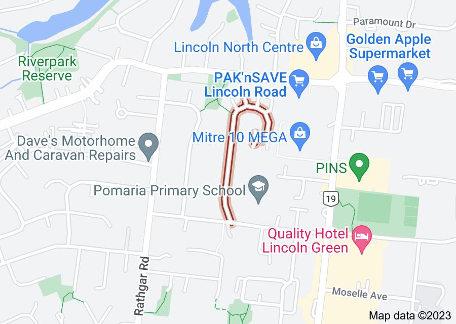 Location of Kingdale Road
