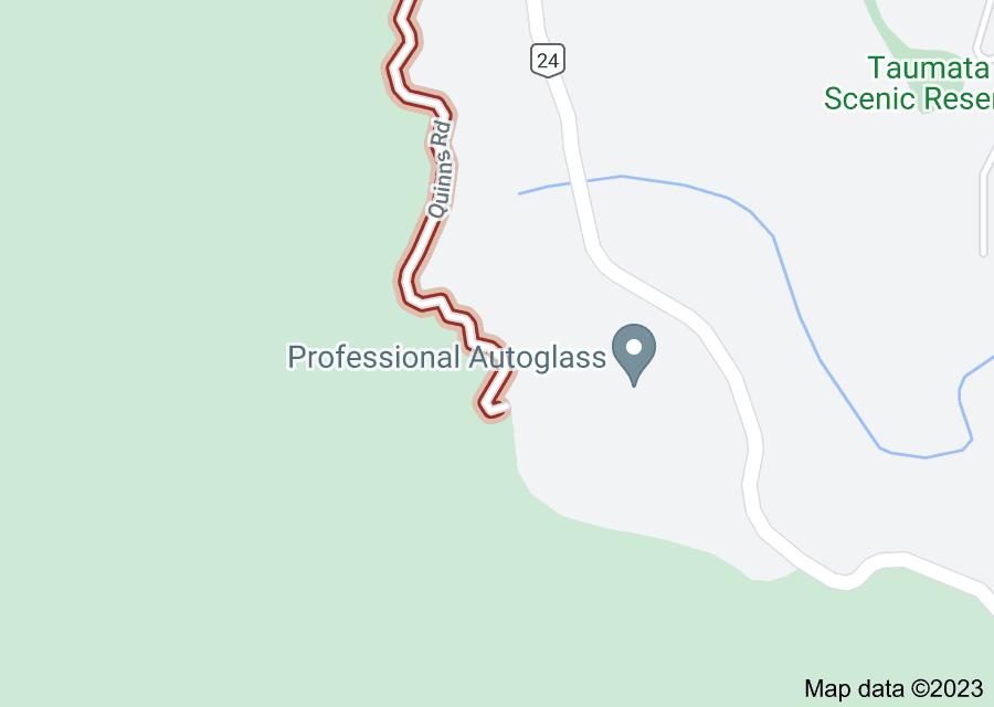 Location of Quinns Road