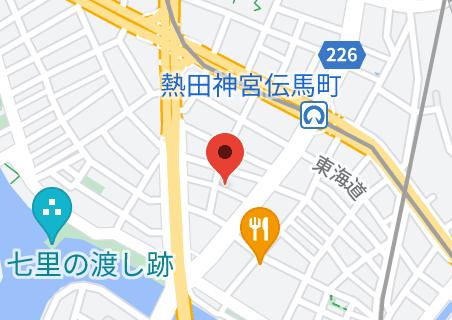 (株)ユニケミー 事務管理センターの地図