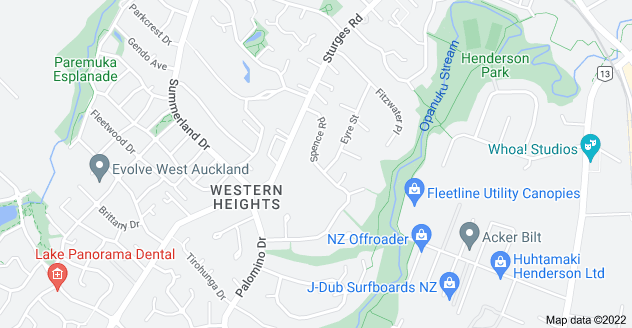 Location of Spence Road