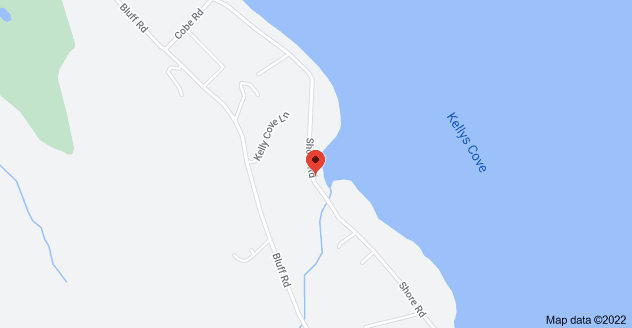 Map of 689 Shore Rd, Northport, ME 04849