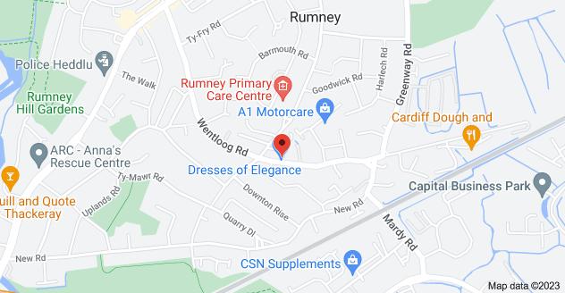 Map of 127 Wentloog Rd, Rumney, Cardiff CF3 3HE