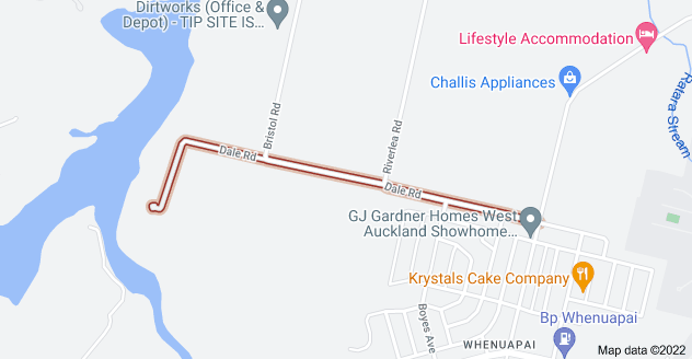 Location of Dale Road