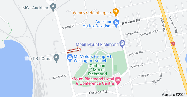 Location of Mount Richmond Drive