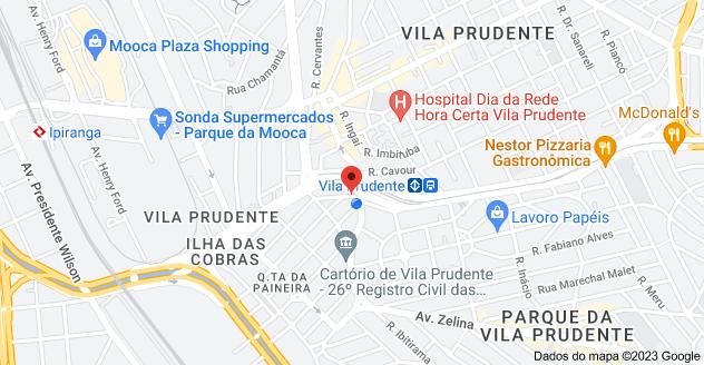 Mapa de R. Limeira, 456 - 2º Andar, sala 5 - Q.ta da Paineira, São Paulo - SP, 03150-070