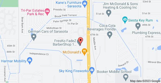 Map of 1979 Northgate Blvd, Sarasota, FL 34234