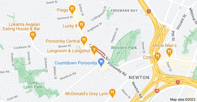Location of Colin Shaw Lane