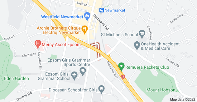 Location of Mahuru Street