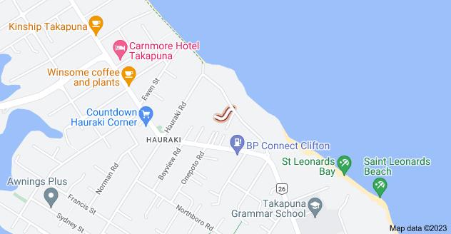 Location of Arthur Crescent