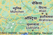 Location of ऑस्ट्रिया