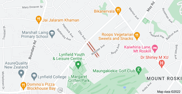 Location of Pascoe Street