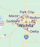 Map of Wichita [Kansas