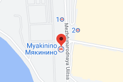 Location of Myakinino