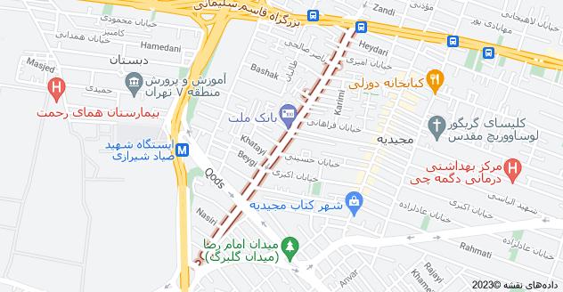 اجاره آپارتمان مبله در مجیدیه تهران