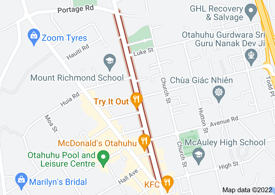 Location of Atkinson Avenue
