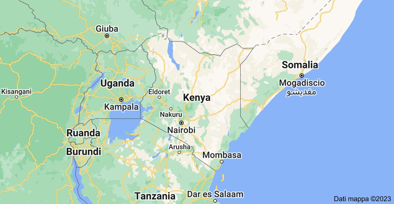 Mappa di: Kenya