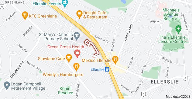 Location of Hudson Street