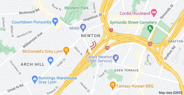 Location of Winchester Street