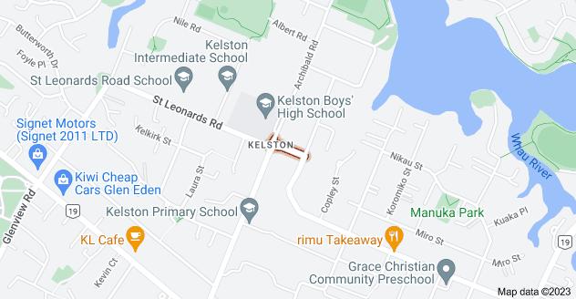 Location of Archlynn Road