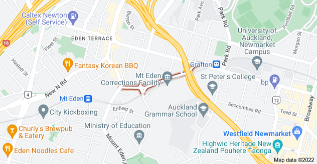 Location of Boston Road