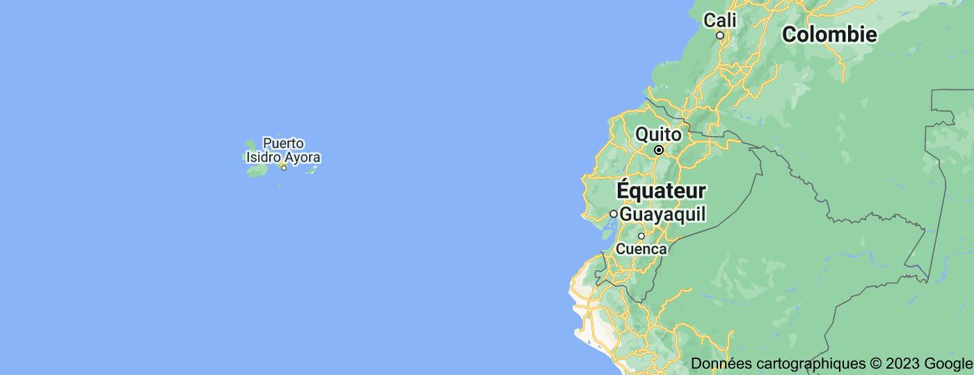 Location of Équateur