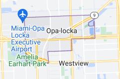 Map of Opa-locka