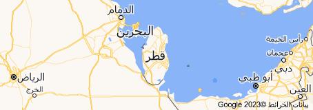 Location of قطر