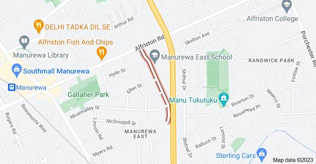 Location of Scotts Road