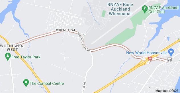 Location of Brigham Creek Road