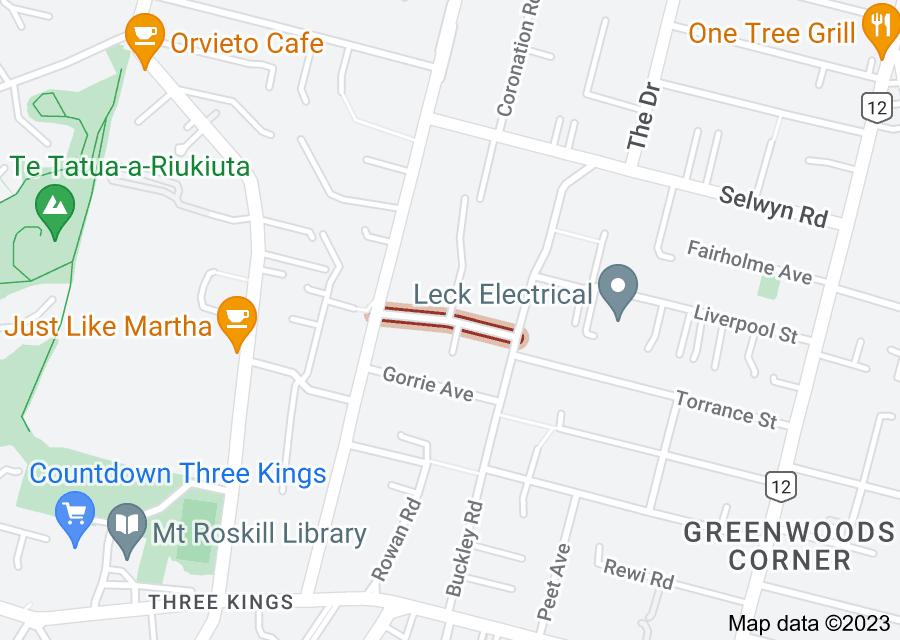 Location of Quentin Avenue