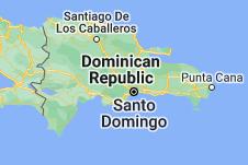 Location of Dominican Republic