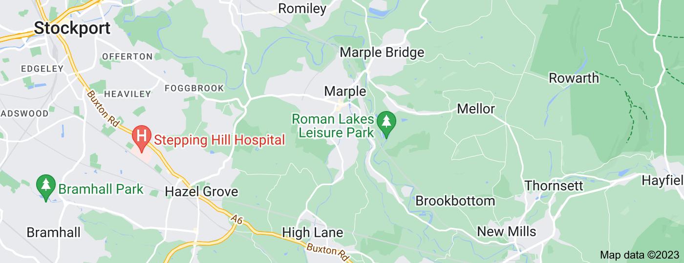 Location of Marple