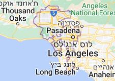 Location of לוס אנג'לס
