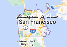Location of سان فرانسیسکو