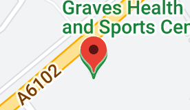 Map of Graves Health and Sports Centre