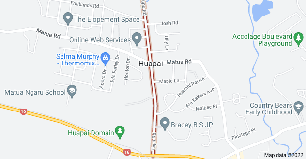 Location of Tapu Road