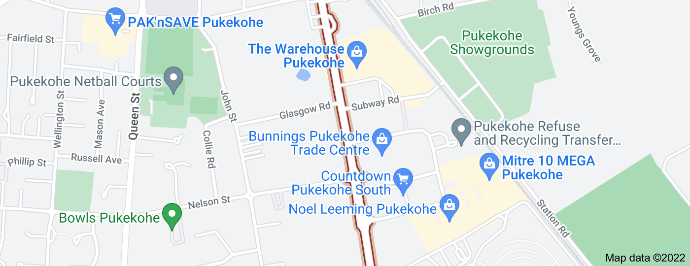 Location of Manukau Road